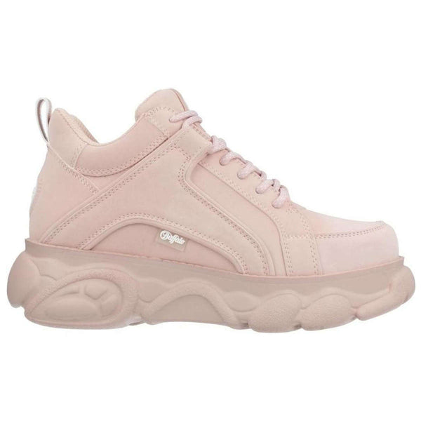 Buffalo CLD Corin Nubuck Womens Trainers#color_light pink