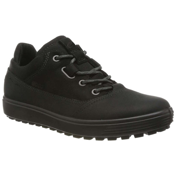 Ecco Soft 7 Tred 450253 Leather Textile Womens Trainers#color_black