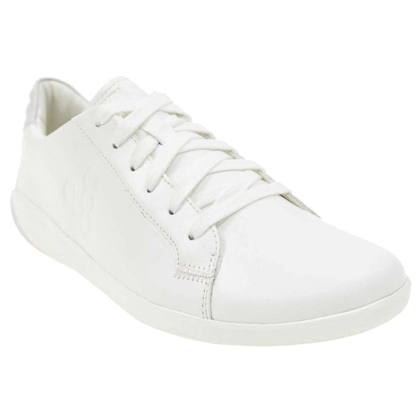 Vivobarefoot Geo Court Leather Mens Trainers#color_bright white