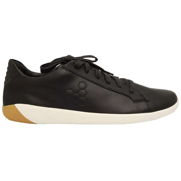 Vivobarefoot Geo Court Leather Womens Trainers#color_obsidian
