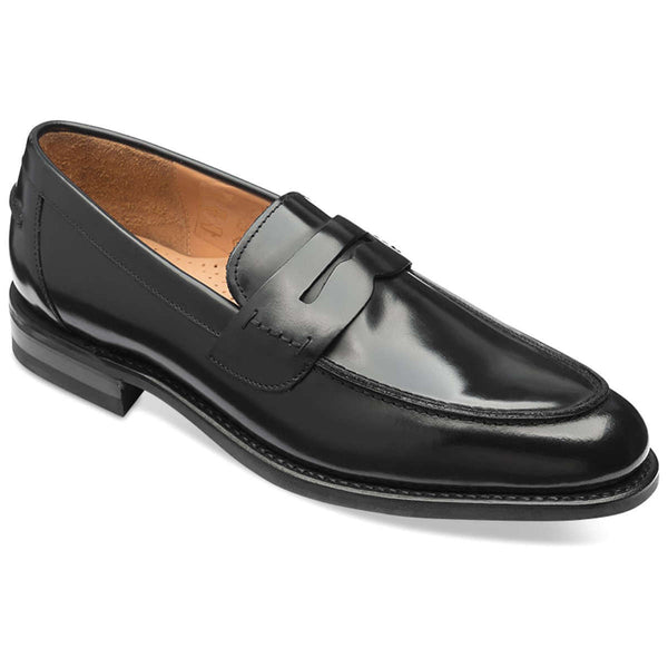 Loake 356 Leather Mens Shoes#color_black