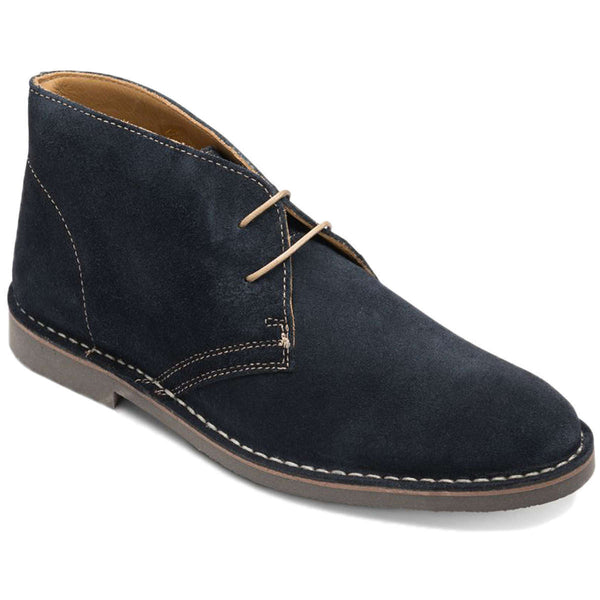 Loake Sahara Suede Mens Boots#color_navy