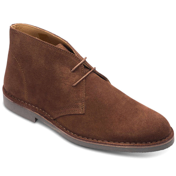 Loake Sahara Suede Mens Boots#color_brown