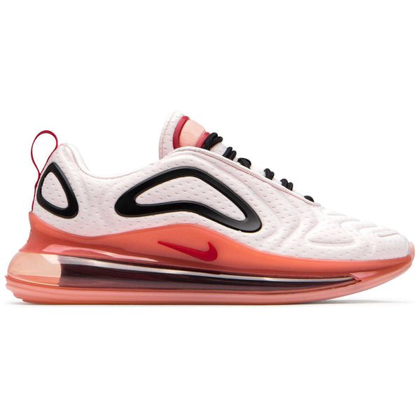 Nike Air Max 720 Textile Synthetic Womens Trainers#color_light soft pink