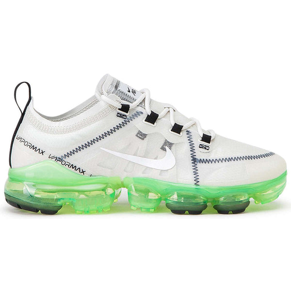 Nike Air Vapormax 2019 Textile Synthetic Womens Trainers#color_summit white