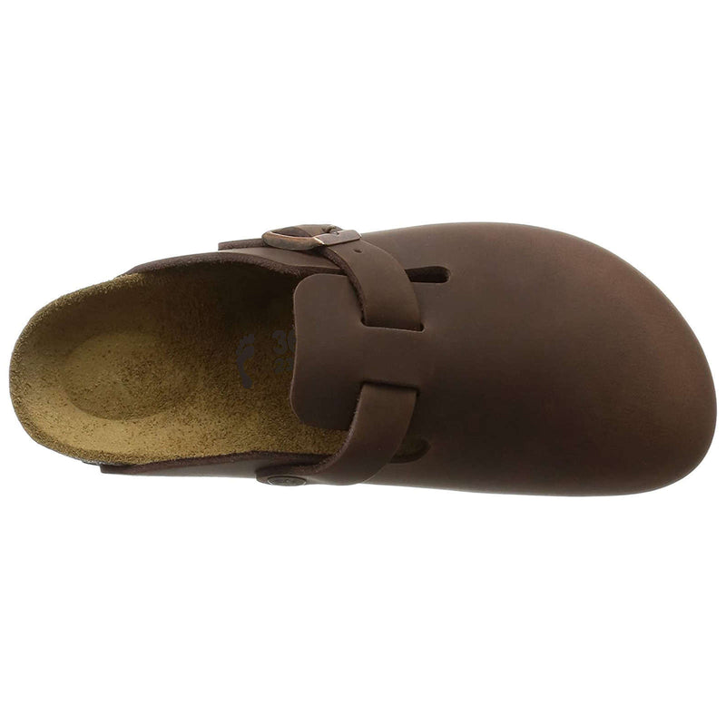 Birkenstock Boston BS Waxy Leather Unisex Sandals