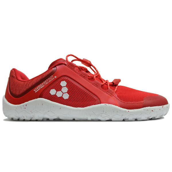 Vivobarefoot Primus Trail FG Synthetic Textile Womens Trainers#color_glowing ember