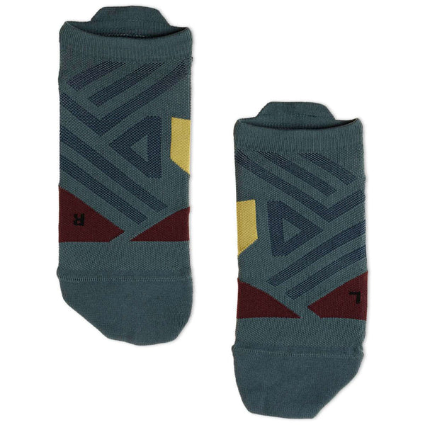On Running Low Sock Textile Mens Socks#color_shadow mulberry