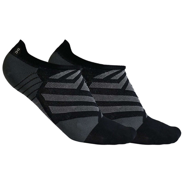 On Running Low Sock Textile Womens Socks#color_black shadow