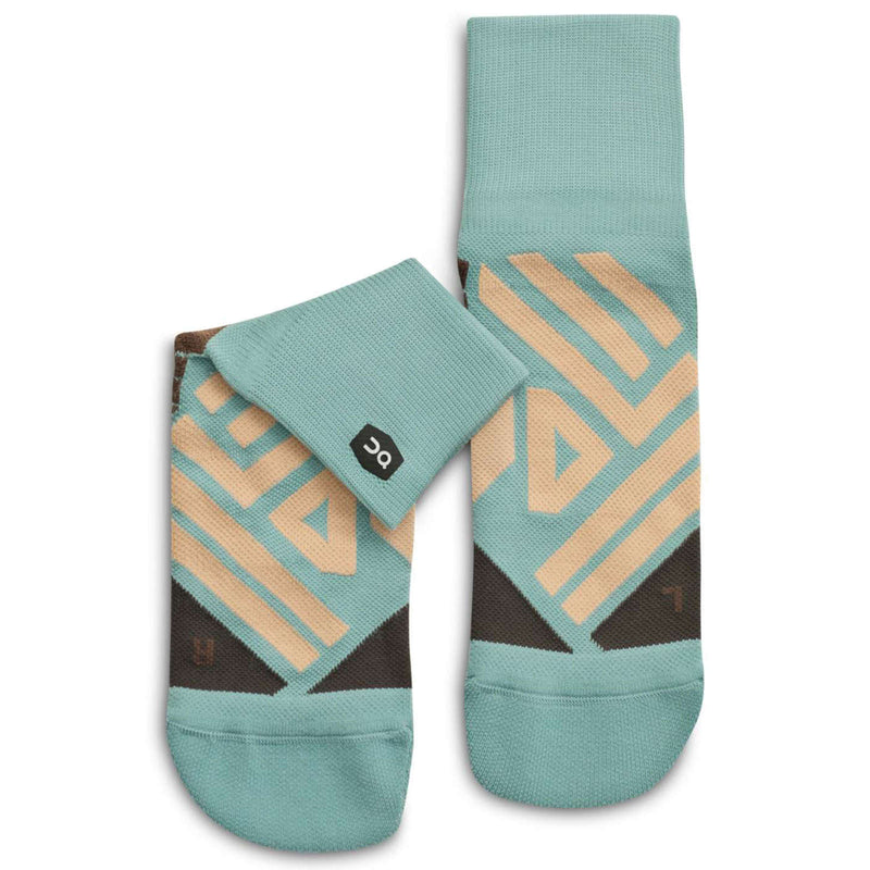 On Running Mid Sock Textile Womens Socks