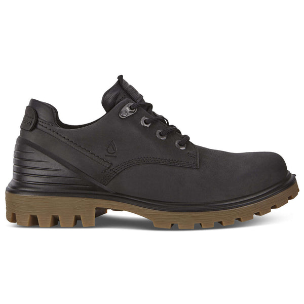 Ecco Tredtray Nubuck Mens Shoes#color_black