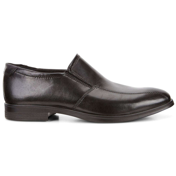 Ecco Melbourne 621654 Leather Mens Shoes#color_black