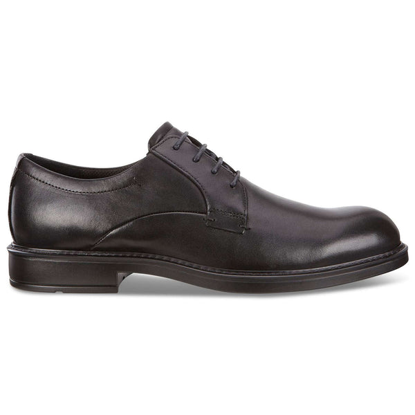 Ecco Vitrus III 640504 Leather Mens Shoes#color_black
