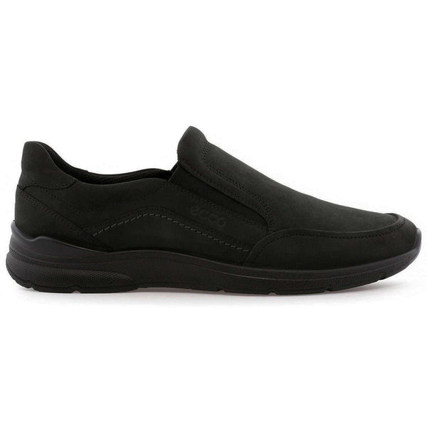 Ecco Irving 511714 Nubuck Mens Shoes#color_black
