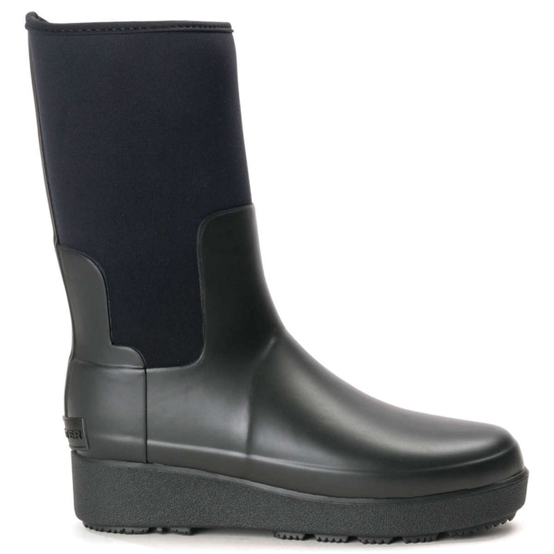 Hunter Refined Creeper Neo Short Rubber Womens Boots