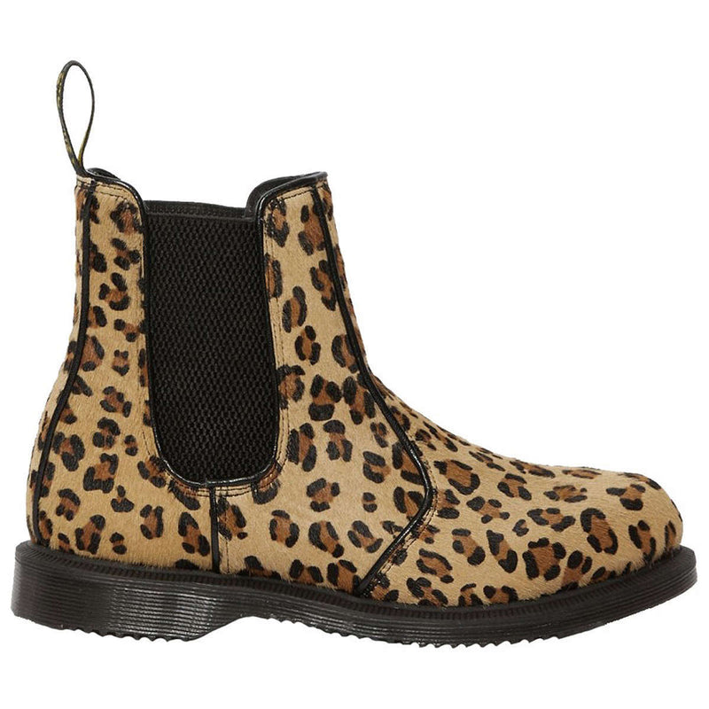 Dr.Martens Flora Hair Fur Leather Womens Boots