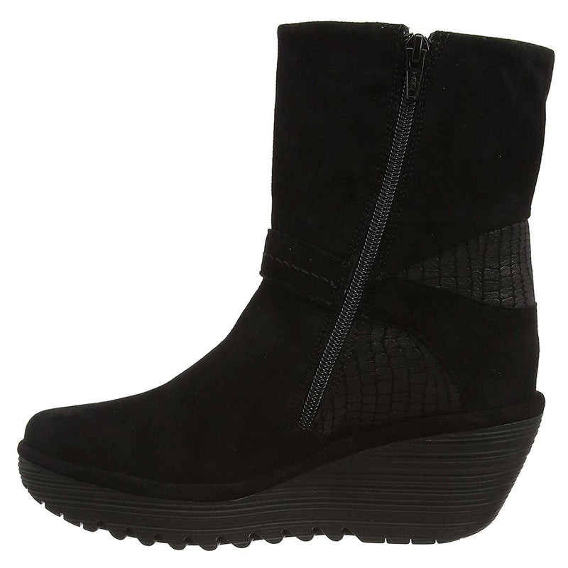 Fly London YOME083FLY Suede Leather Womens Boots
