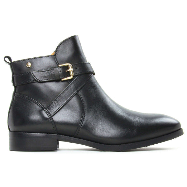 Pikolinos Royal W4D Leather Womens Boots#color_black