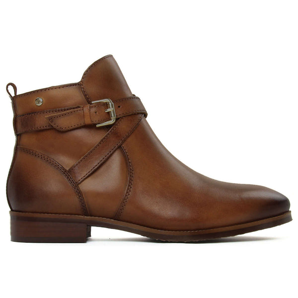 Pikolinos Royal W4D Leather Womens Boots#color_brandy