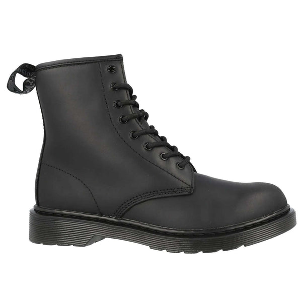 Dr. Martens 1460 Serena Mono Republic WP Leather Youth Boots#color_black