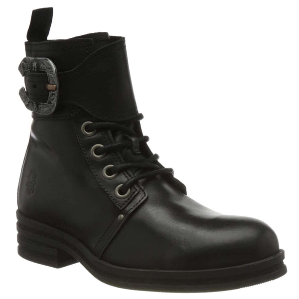 Fly London KARA664FLY Rug Leather Womens Boots#color_black