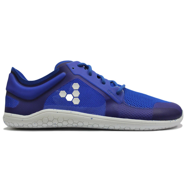 Vivobarefoot Primus Lite II Recycled Textile Synthetic Mens Trainers#color_vivid blue