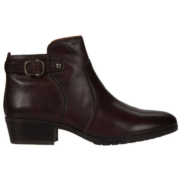 Pikolinos Daroca W1U Leather Womens Boots#color_olmo