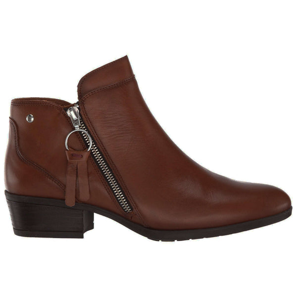Pikolinos Daroca W1U-8590 Leather Womens Boots#color_cuero