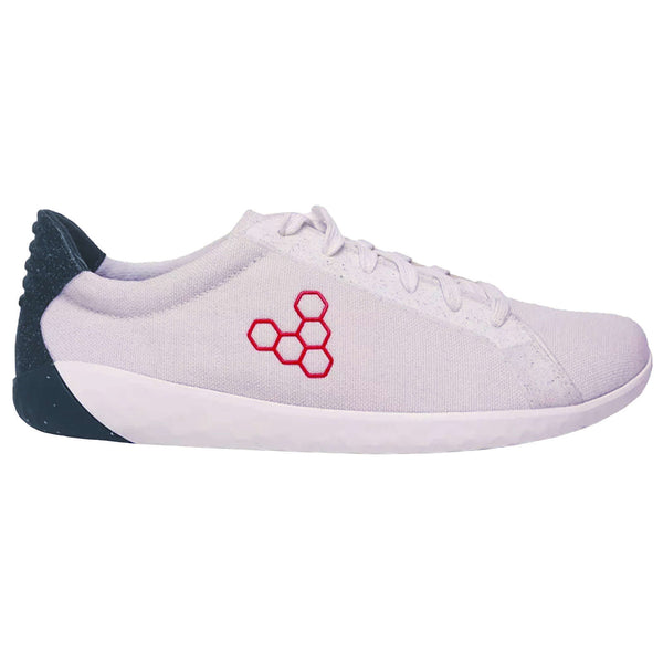 Vivobarefoot Geo Court Eco Textile Synthetic Womens Trainers#color_white navy red