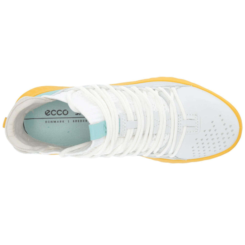 Ecco St 1 Lite 837323 Leather Textile Womens Trainers