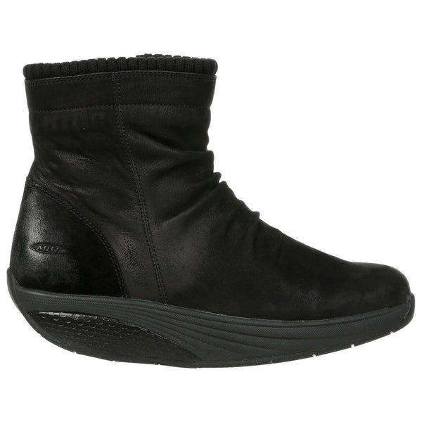 MBT Kendu Leather Textile Womens Boots#color_black