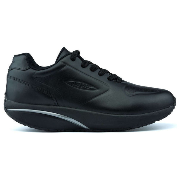 MBT MBT-1997 Leather Womens Trainers#color_black