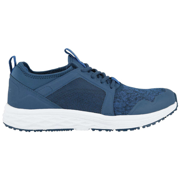 Vionic Fulton Dominic Textile Synthetic Mens Trainers#color_navy