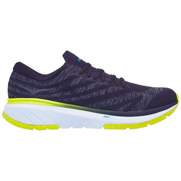 Hoka One One Cavu 3 Textile Mens Trainers#color_deep well white