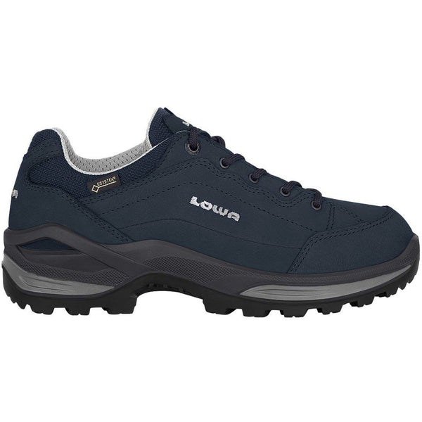 Lowa Renegade GTX Lo Leather Womens Shoes#color_marine