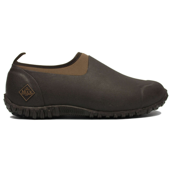Muck Muckster II Low Synthetic Textile Mens Shoes#color_bark otter