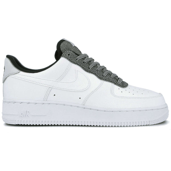 Nike Air Force 1 LV8 4 GS Leather Youth Trainers#color_white pure platinum