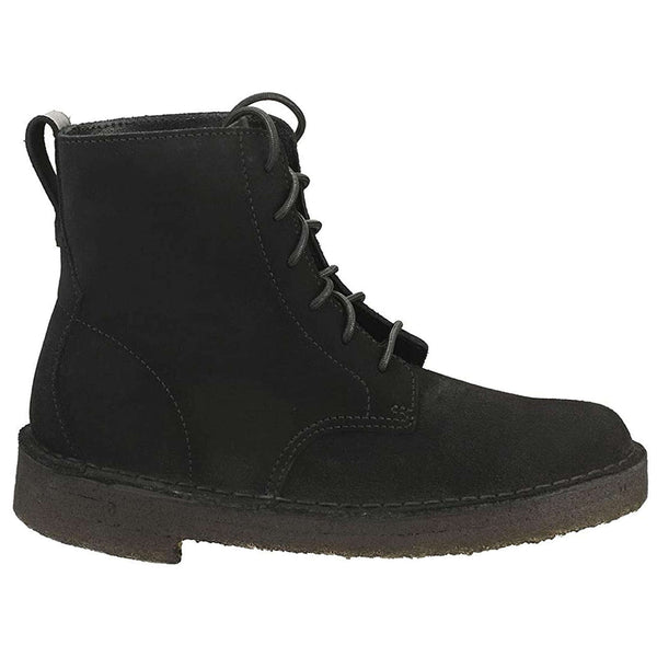 Clarks Originals Desert Mali Suede Womens Boots#color_black