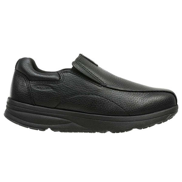 MBT Tabaka Leather Mens Shoes#color_black