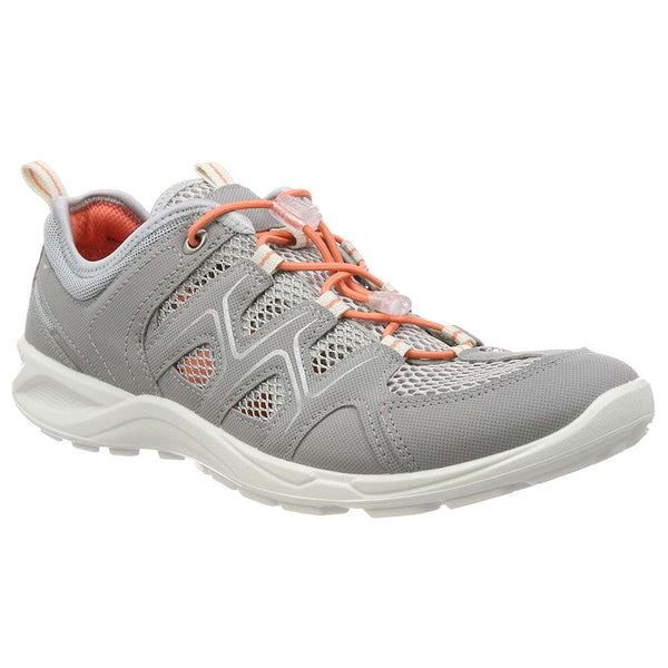 Ecco Terracruise LT 825773 Textile Synthetic Womens Shoes#color_silver grey silver metallic