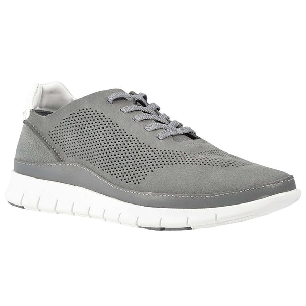 Vionic Fresh Tucker Nubuck Mens Trainers#color_grey