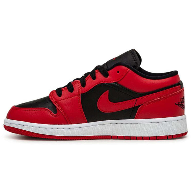 Jordan Air Jordan 1 Low GS Leather Youth Trainers