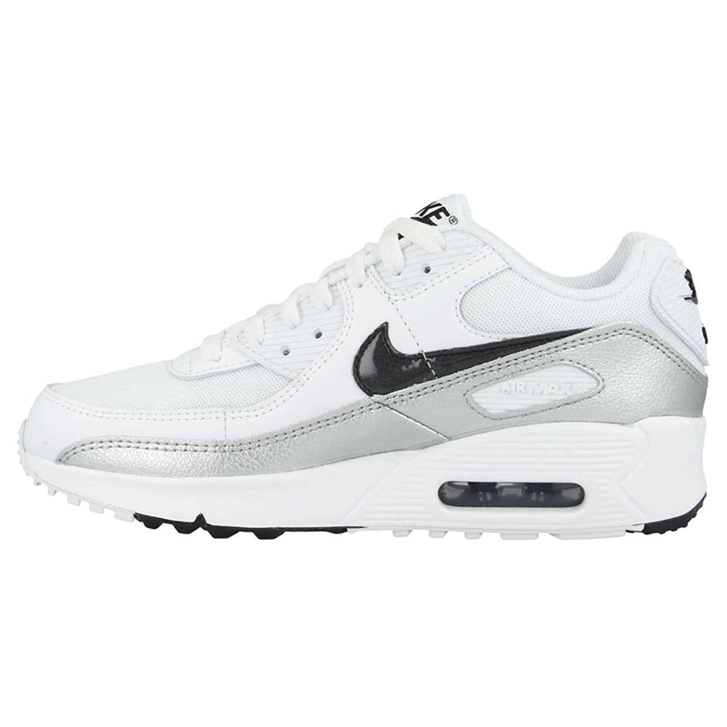 Nike Air Max 90 GS Leather Textile Youth Trainers