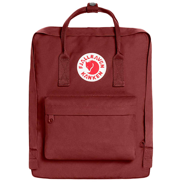 Fjallraven Kanken Synthetic Textile Unisex Accessories Bag#color_ox red