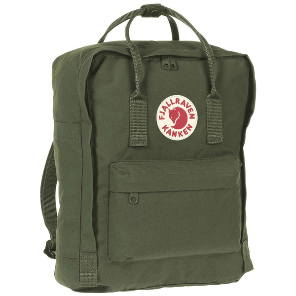 Fjallraven Kanken Synthetic Textile Unisex Accessories Bag#color_forest green