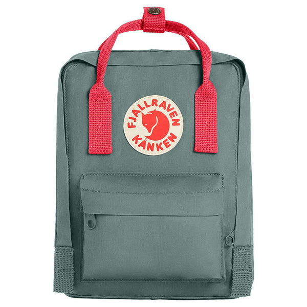 Fjallraven Kanken Mini Synthetic Textile Unisex Accessories Bag#color_frost green peach pink
