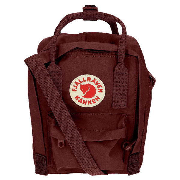 Fjallraven Kanken Sling Synthetic Textile Unisex Accessories Bag#color_ox red