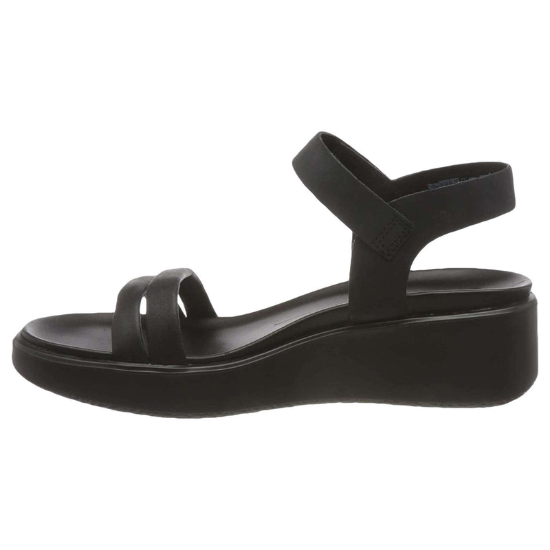 Ecco Flowt Wedge LX Leather Womens Sandals