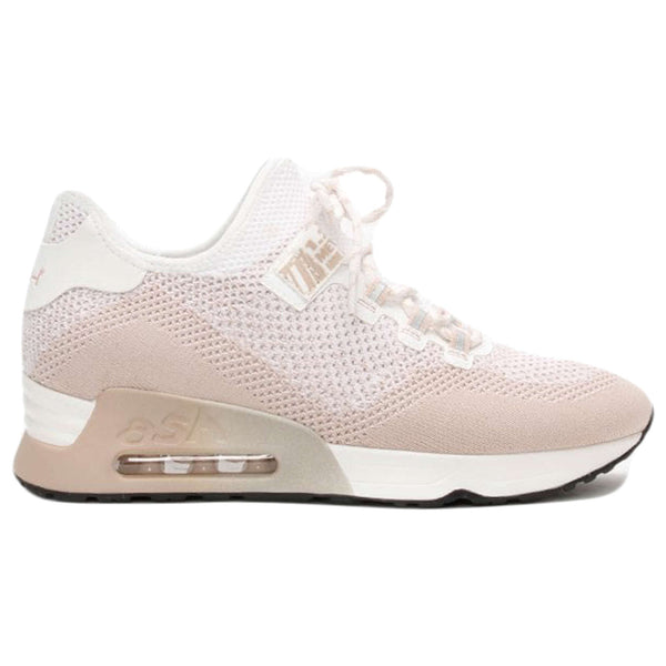 Ash Look Synthetic Textile Womens Trainers#color_pinksalt white