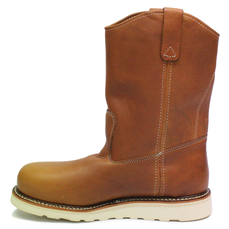 "Thorogood 11"" Wellington Wedge Non-Safety Leather Mens Boots"